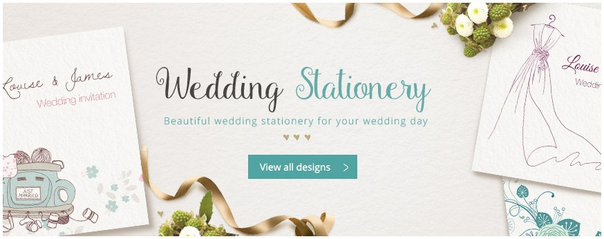 See all our wedding stationery