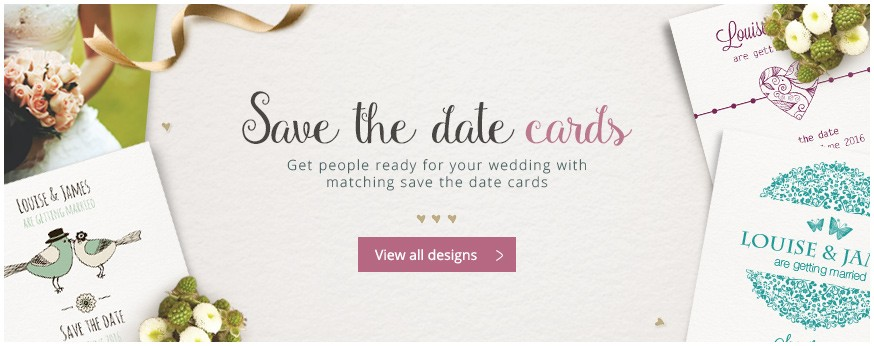 See all save the date cards