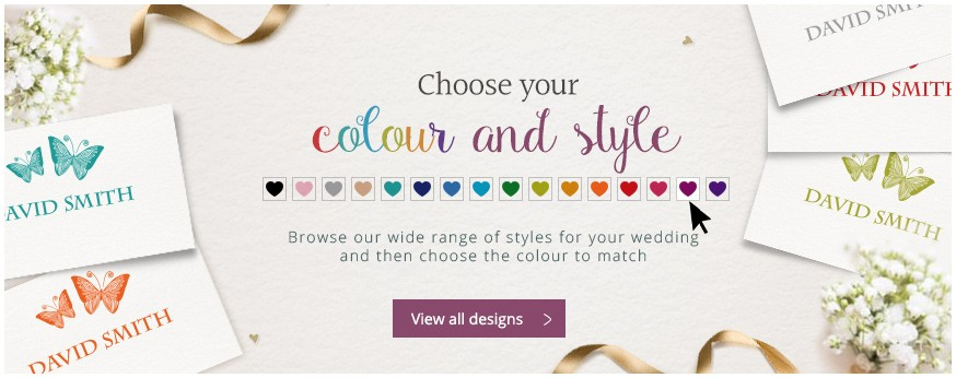 Choose your colour and style