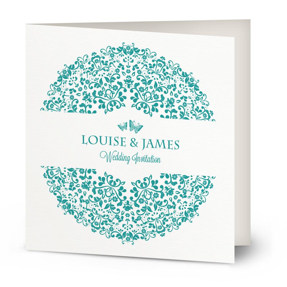 Circle of Love wedding invitation | Beautiful Wishes